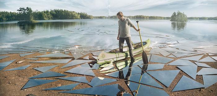 Эрик Йоханссон вновь ломает границы реальности...