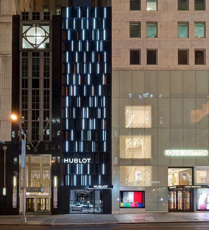 Открытие бутика Hublot на 5-ой авеню в Нью-Йорке