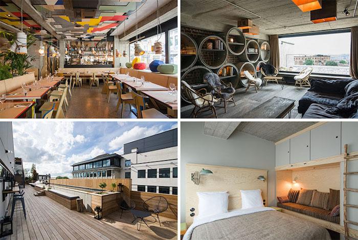 JAM: отель в Бельгии с невероятным дизайном...