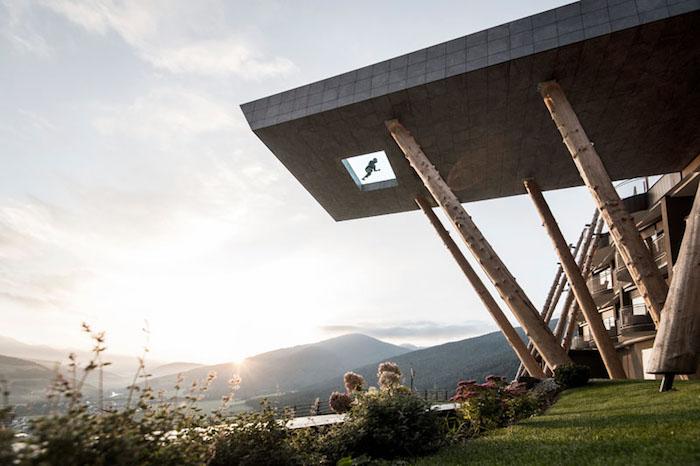 Hubertus: отель с видовым бассейном в Италии