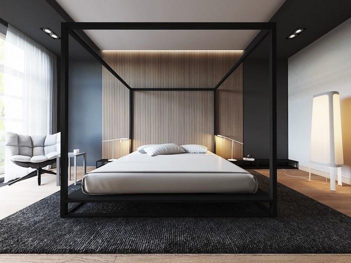 Кровать с балдахином: 24 стильных примера