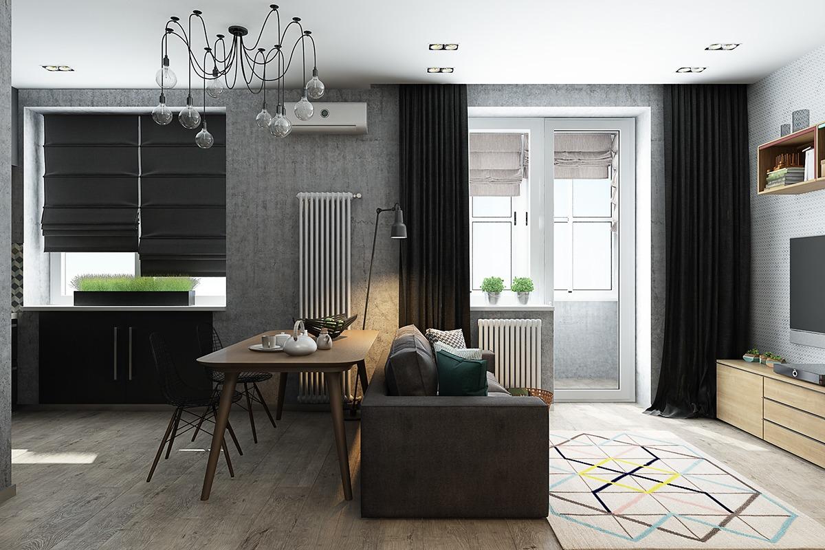 Дизайн квартир маленькой площади: 4 вдохновляющих примера