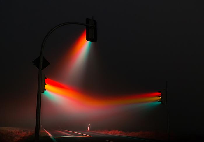 Светофоры в тумане 2.0: фотопроект Лукаса Циммерманна