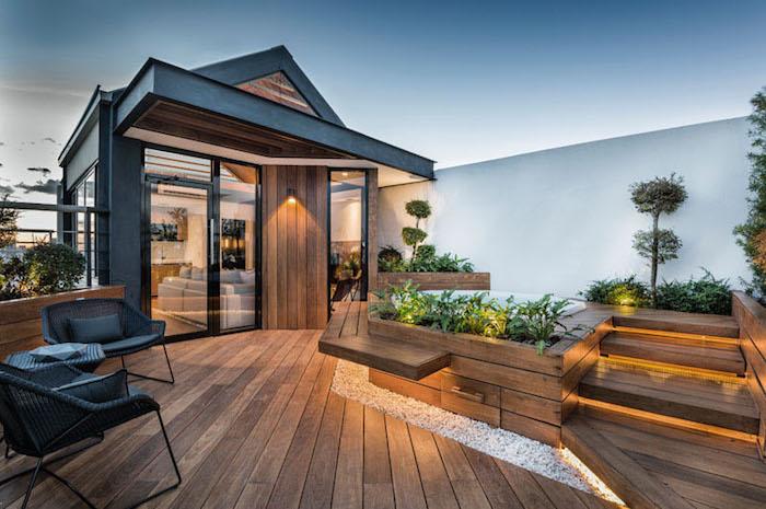 Терраса на крыше дома: специфика, дизайн, идеи