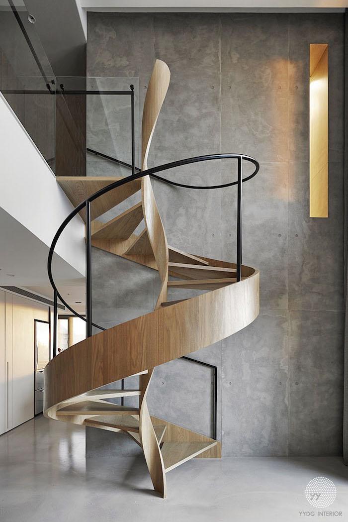 Винтовая лестница: 20 вдохновляющих примеров