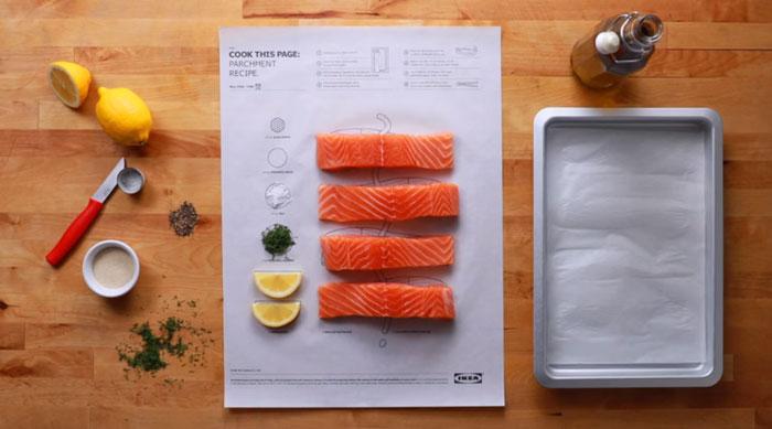 Cook This Page: новый способ приготовления еды от IKEA