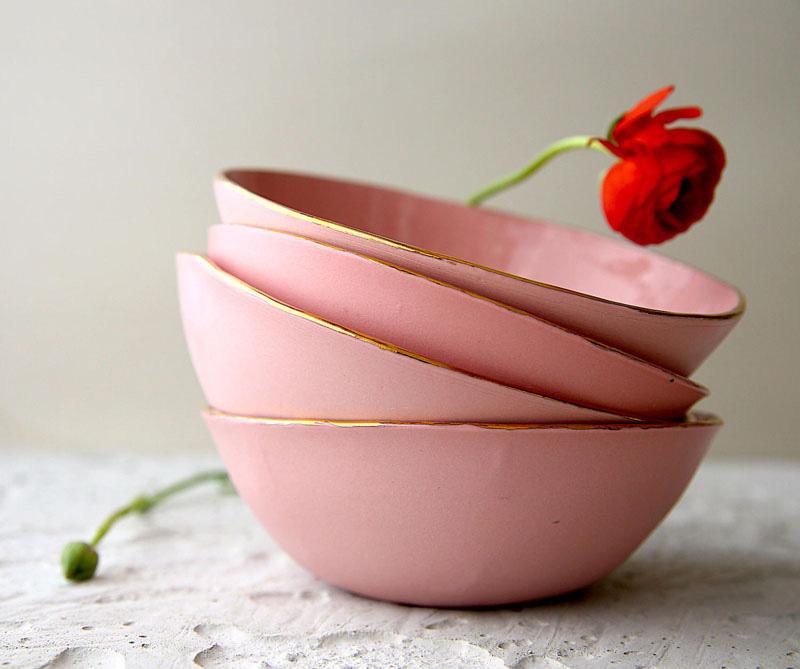 Освежите интерьер пастельно-розовыми акцентами: 14 идей