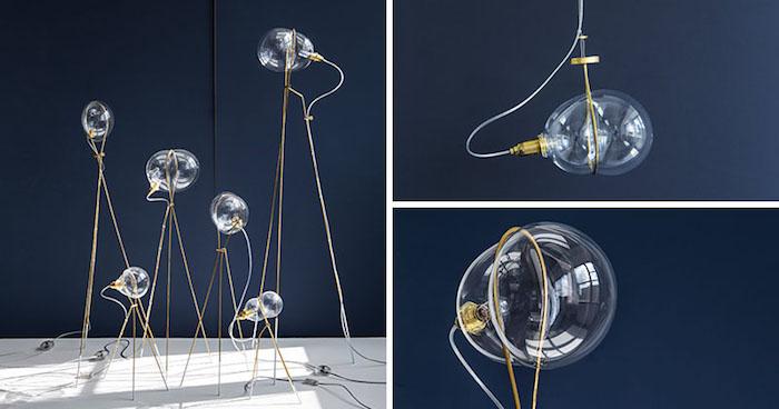 Коллекция светильников STRESS от Ohad Benit