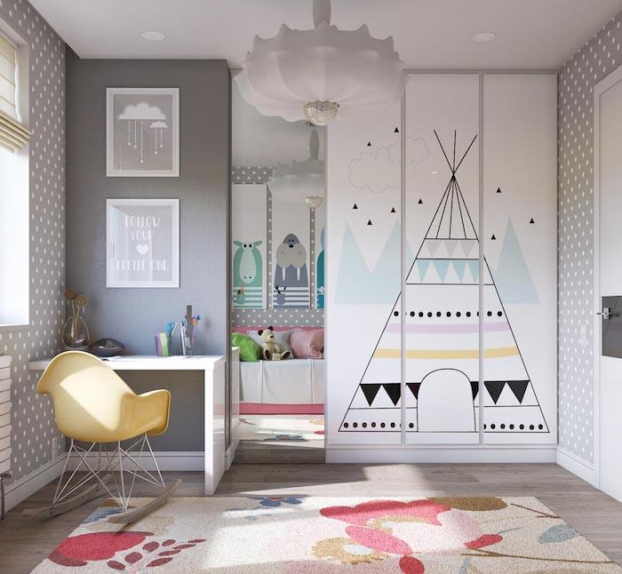 Стильная детская комната для девочки: 7 примеров