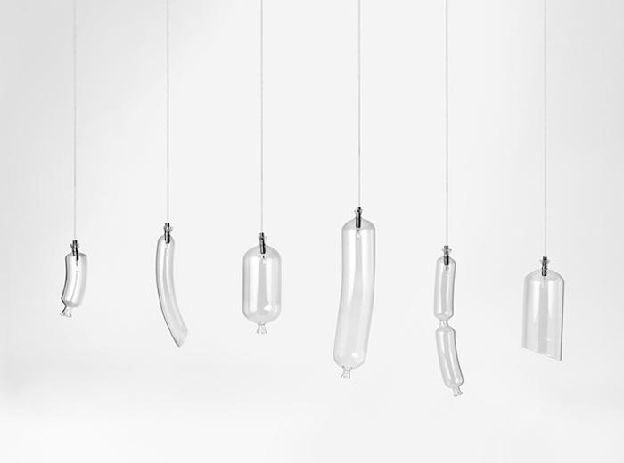 SO-sage: коллекция светильников в форме сосисок