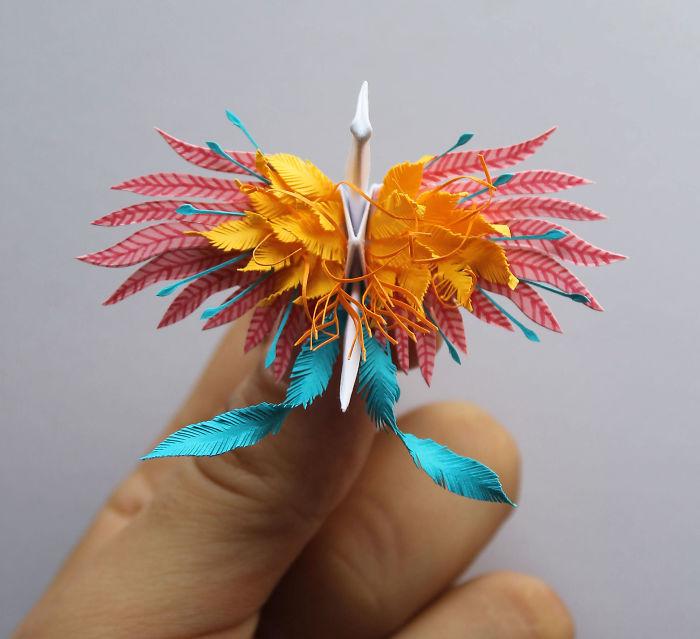 Cristian Marianciuc: я делал журавлей-оригами ежедневно в течение 1000 дней
