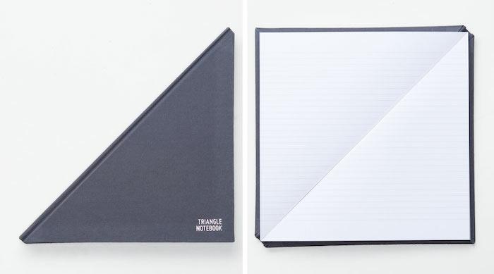 Triangle Notebook: треугольный блокнот от Tan Mavitan