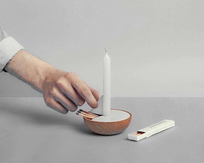 Veleiro: минималистичный подсвечник от Ventura Lab