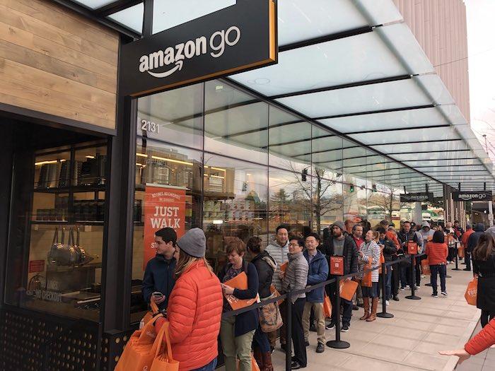 Amazon Go открыт! Магазин без касс и очередей