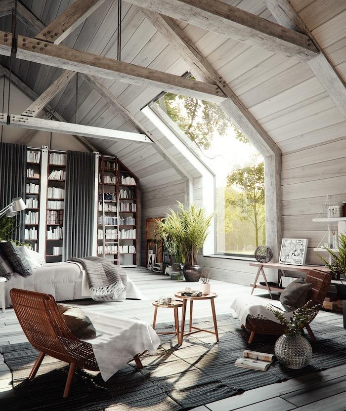 Спальня в стиле кантри: 36 вдохновляющих примеров