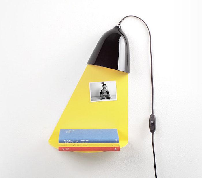 Light Shelf: лампа-полка от дизайнера Jong-su Kim