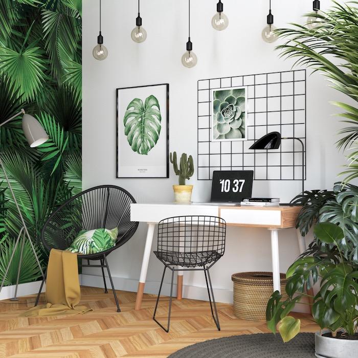 Домашний офис: 32 стильных примера оформления