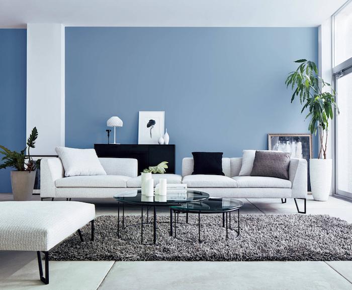 Голубая гостиная: 30 вдохновляющих примеров