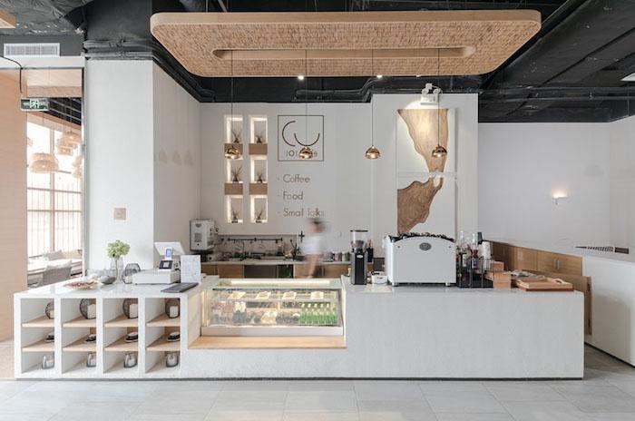 Как оформить кафе: стильный пример от Far Office