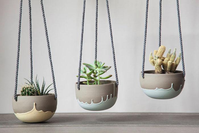 Коллекция керамических горшков с уникальным дизайном от Parceline
