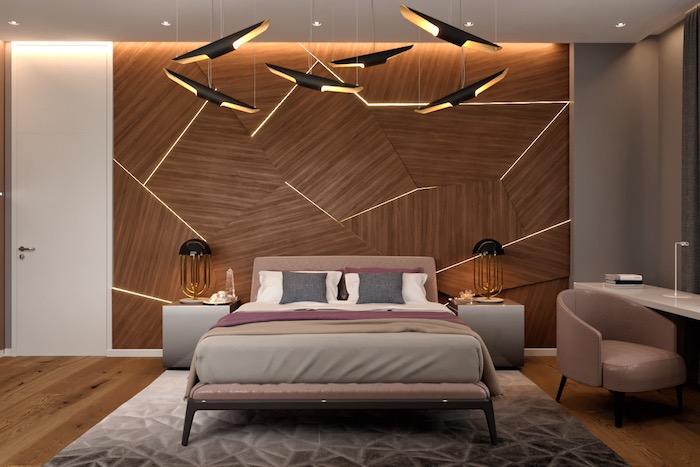 Стильные спальни: 50 вдохновляющих примеров